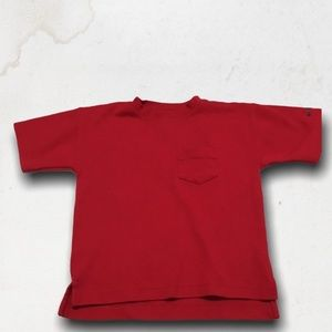 GYMBOREE Red T-Shirt With Front Pocket
